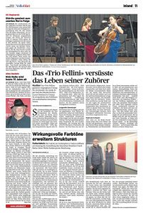 Article Trio Fellini, February 2016